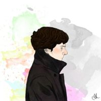 Sherlock - colours by kneelmortals