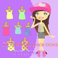 Remera para dolls by PiTuFiNa7