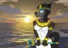Lady Fang Queen of the Nile by NeroUrsus