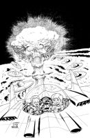 MARS ATTACKS: FIRST BORN #2 Cover by LostonWallace