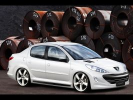 Peugeot 207 Sedan by MurilloDesign