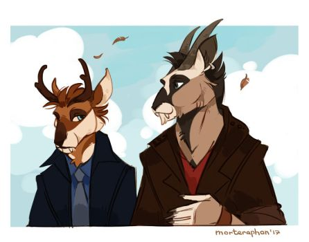 Some horns by morteraphan