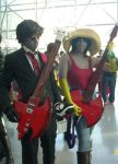 Marshall Lee and Marceline (NYCC 2013) by yaphi1