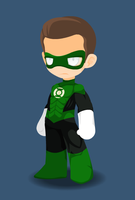 Green Lantern by CharonTheShadow