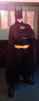 Batman costume build for Halloween 2014 - suit up by Adams-Twins
