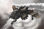 Punk Tech Steam-o-thopter by Crowsrock