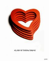 A pile of hollow hearts by lexidh