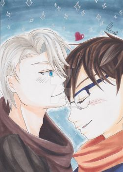 Victuuri by CrystalMelody-FT