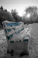 Winters Seat by AGM-Prints