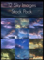 Sky Stock Pack 2 by ImaginaryRosse