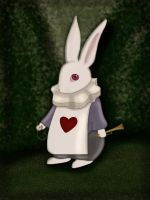 White Rabbit by MademoiselleChouette