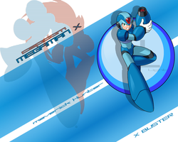 Maverick Hunter X by MetalForce