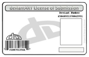 Deviant ID template by narutofankh