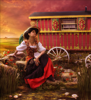 Gypsy Girl by feainne