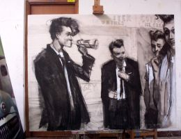 Teddy Boys by julepe