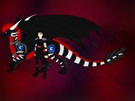 DDC-Phoenix and Mega the Shadow Crawler by ShardianofWhiteFire