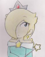 Rosalina... in Anime form?.. by supamarioland
