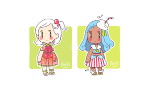 Soda Girls Adopts, Set price $10 each! OPEN by ieafy