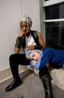 Resting with Xehanort by ZexionConvertedSaix