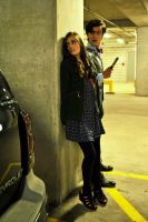 Eleventh Doctor and Clara Oswin Oswald Cosplay by MisterTimeLord