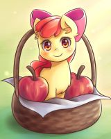 Apples in Basket by NinjaHam