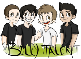 BILLY TALENT by lewisrockets