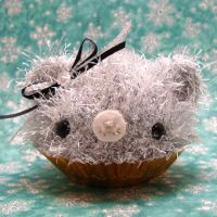 Icicle Cupcake Bear by amigurumikingdom