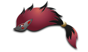 Zoroark by darkheroic