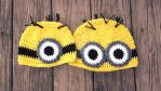 Crochet Minion Hat Custom Order All Sizes Availabl by OrthusDemon11