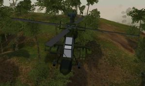 Eurocopter Tiger ingame by senor-freebie