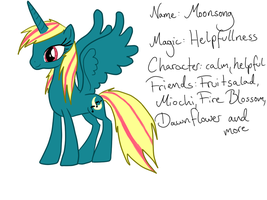 MLP: FiM Char Moonsoong Ref by AmieAdot