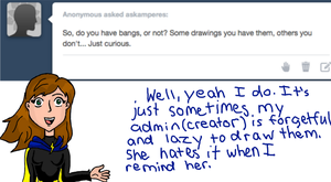 Ask Amperes on Tumblr Answer 3 by DCFangirl01