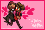 Je T'aime, Valentine by loneyqua