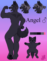 Angel VanDyke Reference by hazelnoots