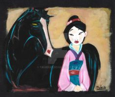 Mulan by Taurie87