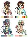 Custom hadas batch 1 by kiim-adopts