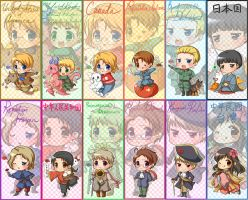 AXIS POWERS HETALIA GOODS by konoesuzumiya