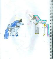 Celestia and Luna are true sisters by Kelseyalicia