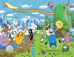 Adventure Time Cover Issue 1 by ReedGunther