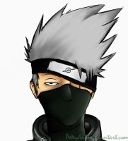 Kakashi by PeteyXkid