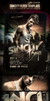SinCity PSD Flyer/Poster Template by yAniv-k