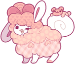 [CUSTOM] Flufferbun - Sweet Bear Plushie by fIuffer