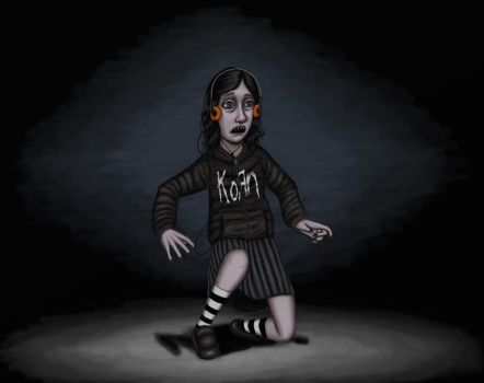 Eli, in a korn hoodie by Michaelpinocchio