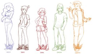 Emma Cast Line-Up by Street-Angel