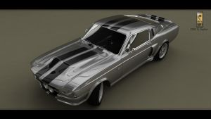 Mustang Shelby GT 500 1967 render8 by Siegfried-Ukr