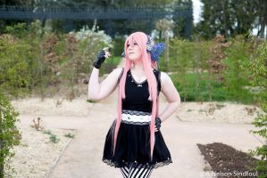 Megurine Luka Magnet - Portrait by AngelAngelyss
