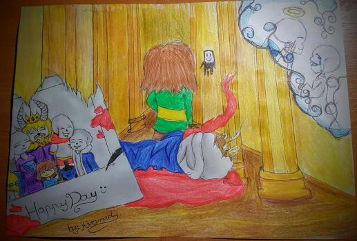 The worst day !!(Undertale) by Hiromed