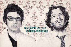 Flight Of The Conchords by lamotta94