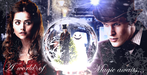 Doctor Who The Snowmen Banner 2 by RoseSwan