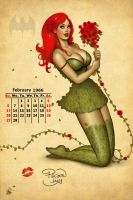 Poison Ivy Pinup Girl by Nszerdy